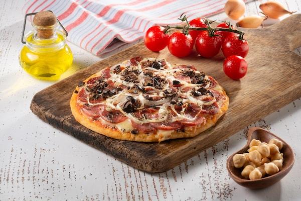 WeChef- Pizza de Calabresa sem Glúten - 210 g