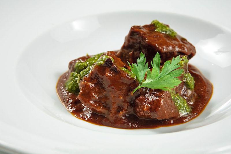 Carne de panela com chimichurri - 150 g