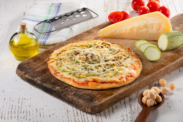 WeChef- Pizza de Abobrinha sem Glúten e sem Lactose gostosa de verdade - 210 g